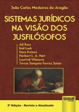 Capa do livro: Sistemas Jurídicos na Visão dos Jusfilósofos, João Carlos Medeiros de Aragão