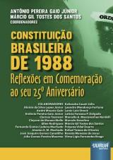 Capa do livro: Constituição Brasileira de 1988, Coordenadores: Antônio Pereira Gaio Júnior e Márcio Gil Tostes dos Santos