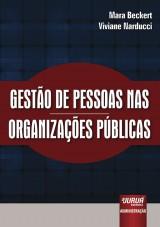 Capa do livro: Gestão de Pessoas nas Organizações Públicas, Mara Beckert e Viviane Narducci