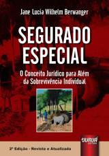 Capa do livro: Segurado Especial, Jane Lucia Wilhelm Berwanger