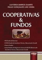 Capa do livro: Cooperativas & Fundos, Lajyárea Barros Duarte e Paulo Gonçalves Lins Vieira
