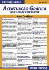Capa do livro: Resumos Juruá - Língua Portuguesa - Acentuação Gráfica - Novo Acordo Ortográfico, Neumar Carta Winter