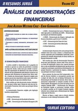 Capa do livro: Resumos Juru� - Cont�bil - An�lise de Demonstra��es Financeiras - Volume 02, June Alisson Westarb Cruz e Emir Guimar�es Andrich