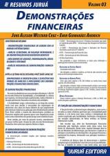 Capa do livro: Resumos Juruá - Contábil - Demonstrações Financeiras, June Alisson Westarb Cruz e Emir Guimarães Andrich