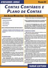 Capa do livro: Resumos Juruá - Contábil - Contas Contábeis e Plano de Contas, June Alisson Westarb Cruz e Emir Guimarães Andrich