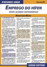 Capa do livro: Resumos Juru� - L�ngua Portuguesa - Emprego do H�fen � Novo Acordo Ortogr�fico - Volume 03, Neumar Carta Winter
