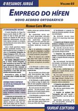 Capa do livro: Resumos Juruá - Língua Portuguesa - Emprego do Hífen – Novo Acordo Ortográfico, Neumar Carta Winter
