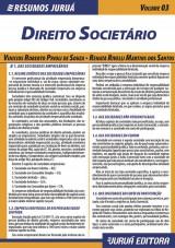 Capa do livro: Resumos Juruá - Direito - Direito Societário, Vinicius Roberto Prioli de Souza e Renata Rivelli Martins dos Santos