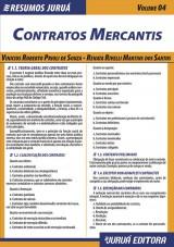 Capa do livro: Resumos Juruá - Direito - Contratos Mercantis - Volume 04, Vinicius Roberto Prioli de Souza e Renata Rivelli Martins dos Santos
