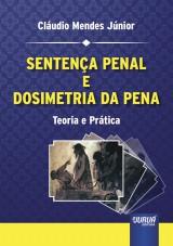 Capa do livro: Sentença Penal e Dosimetria da Pena - Teoria e Prática, Cláudio Mendes Júnior