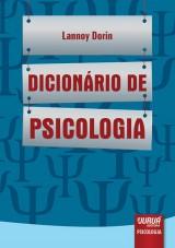 Capa do livro: Dicionário de Psicologia, Lannoy Dorin