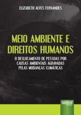 Capa do livro: Meio Ambiente e Direitos Humanos, Elizabeth Alves Fernandes