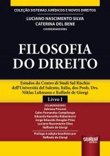 Capa do livro: Filosofia do Direito, Coordenadores: Luciano Nascimento Silva e Caterina Del Bene