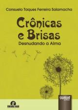 Capa do livro: Crônicas e Brisas - Desnudando a Alma - Semeando Livros, Consuelo Taques Ferreira Salamacha