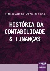 Capa do livro: História da Contabilidade & Finanças, Rodrigo Antonio Chaves da Silva