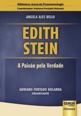 Capa do livro: Edith Stein - A Paixão pela Verdade - Biblioteca Juruá de Fenomenologia, Angela Ales Bello - Organizador: Adriano Furtado Holanda