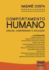 Capa do livro: Comportamento Humano - Análise, Compreensão e Aplicação, Organizadora: Nazaré Costa