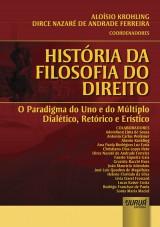 Capa do livro: História da Filosofia do Direito, Coordenadores: Aloísio Krohling e Dirce Nazaré de Andrade Ferreira