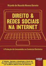 Capa do livro: Direito & Redes Sociais na Internet, Ricardo de Macedo Menna Barreto