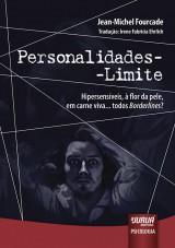 Capa do livro: Personalidades-Limite, Jean-Michel Fourcade - Tradução: Irene Fabricia Ehrlich