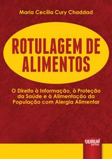 Capa do livro: Rotulagem de Alimentos, Maria Cecília Cury Chaddad