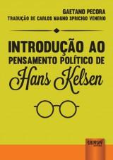 Capa do livro: Introdução ao Pensamento Político de Hans Kelsen, Gaetano Pecora - Tradução de Carlos Magno Spricigo Venerio
