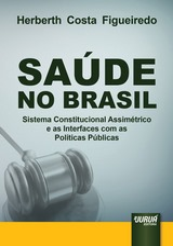 Capa do livro: Saúde no Brasil, Herberth Costa Figueiredo
