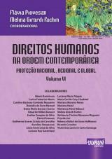 Capa do livro: Direitos Humanos na Ordem Contemporânea - Volume VI – Proteção Nacional, Regional e Global, Coordenadoras: Flávia Piovesan e Melina Girardi Fachin