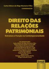 Capa do livro: Direito das Relações Patrimoniais, Coordenador: Carlos Edison do Rêgo Monteiro Filho