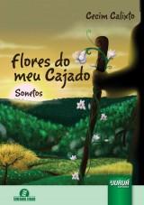 Capa do livro: Flores do Meu Cajado - Sonetos - Semeando Livros, Cecim Calixto
