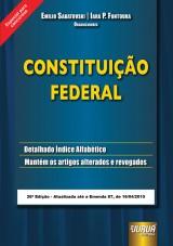 Capa do livro: Constituição Federal - Especial para Concursos - Atualizada até Emenda 87, de 16/04/2015, Organizadores: Emilio Sabatovski e Iara P. Fontoura