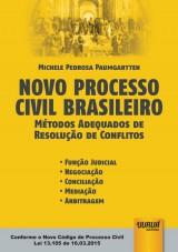 Capa do livro: Novo Processo Civil Brasileiro, Michele Pedrosa Paumgartten