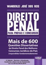 Capa do livro: Direito Penal para Provas e Concursos, Wanderlei José dos Reis