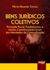 Capa do livro: Bens Jurídicos Coletivos, Flávio Eduardo Turessi