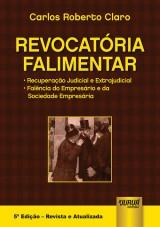 Capa do livro: Revocatória Falimentar, Carlos Roberto Claro