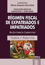 Capa do livro: Régimen Fiscal de Expatriados e Impatriados, Belén García Carretero