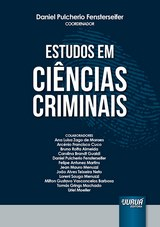 Capa do livro: Estudos em Ciências Criminais, Coordenador: Daniel Pulcherio Fensterseifer