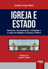 Capa do livro: Igreja e Estado, Daniela Jorge Milani