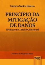 Capa do livro: Princípio da Mitigação de Danos, Gustavo Santos Kulesza