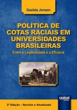 Capa do livro: Política de Cotas Raciais em Universidades Brasileiras, Geziela Jensen