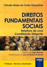 Capa do livro: Direitos Fundamentais Sociais – Releitura de uma Constituição Dirigente, Cláudia Maria da Costa Gonçalves