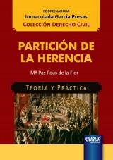 Capa do livro: Partición de La Herencia, Mª Paz Pous de la Flor