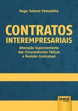 Capa do livro: Contratos Interempresariais, Hugo Tubone Yamashita