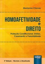 Capa do livro: Homoafetividade e Direito, Marianna Chaves