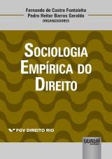 Capa do livro: Sociologia Empírica do Direito, Organizadores: Fernando de Castro Fontainha e Pedro Heitor Barros Geraldo