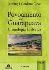 Capa do livro: Povoamento de Guarapuava, Jeorling J. Cordeiro Cleve