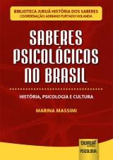 Capa do livro: Saberes Psicológicos no Brasil, Marina Massimi