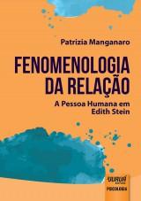 Capa do livro: Fenomenologia da Relação, Patrizia Manganaro - Tradução: Clélia Peretti