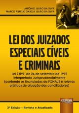 Capa do livro: Lei dos Juizados Especiais Cíveis e Criminais, Antônio Julião da Silva e Marco Aurélio Garcia Julião da Silva