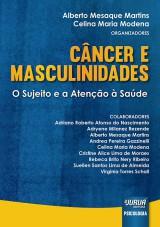 Capa do livro: Câncer e Masculinidades - O Sujeito e a Atenção à Saúde, Organizadores: Alberto Mesaque Martins e Celina Maria Modena